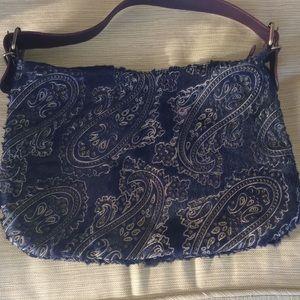 Handbags - Navy shoulder bag